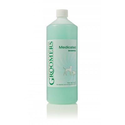Groomers medicine shampoo